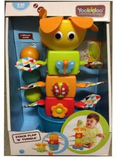 Yookidoo  Stack Flap n' Tumble Kids indoor toys