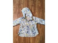 12-18 month lined rain coat from Next