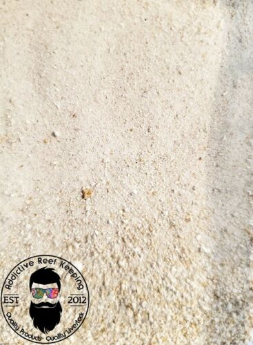 40lb. Eco-Friendly Aragonite Sand Reef – Natural White Crushed Coral Sand