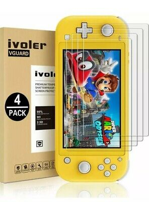 [4 Pack] Screen Protector Tempered Glass for Nintendo Switch Lite,