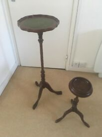 Table/plant stand and ashtray holder