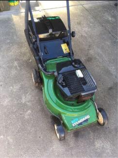Green Victa Lawn Mower