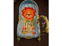 Baby and toddler bouncer