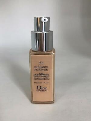 Dior Diorskin Forever 010 Flawless Foundation makeup 20ml New Without Cap TST