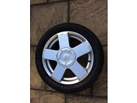 Ford Fiesta Fusion alloy wheel