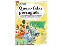 Vamos falar Português! - Portuguese Conversation and Language classes through non-formal methods