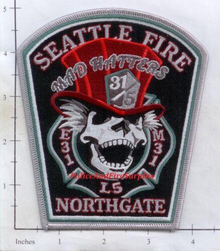 Washington - Seattle Engine 35 Ladder 5 Medic 31 WA Fire Dept Patch