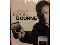 Jason Bourne 2016 Brand New Shrink Wrapped DVD including download code