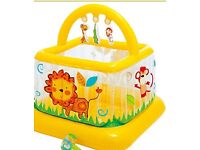 Soft Sides Lil Baby Gym *Play Centre* Garden Indoor Use
