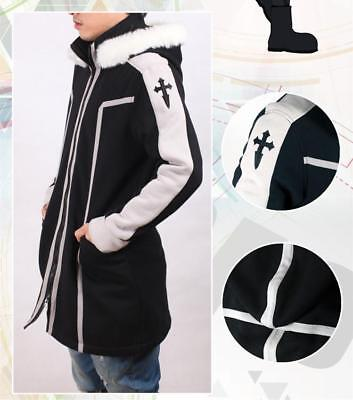 Halloween Anime Sword Art Online Ⅱ Kirigaya Kazuto Coat Jacket Cosplay Costume - Halloween Costumes Online