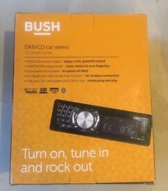 DAB/CD Car Stereo with Bluetooth