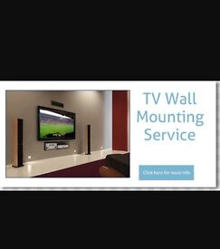 Tv wall mounting bracket stand