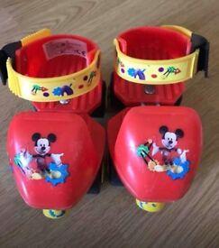 Mickey skates