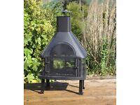 Brand new in box Log burner BBQ