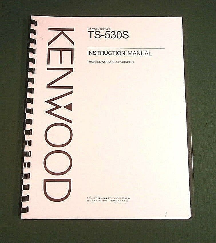 Купить Kenwood TS-530S Instruction Manual: w/11