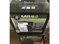 Mackie MR6 mk3 active monitor speakers - like new - pair