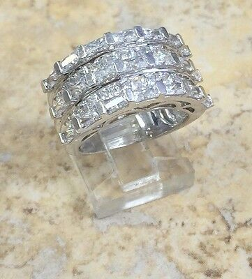 ABSOLUTE BAND STERLING SILVER RING SIZE 5 HSN SOLD OUT