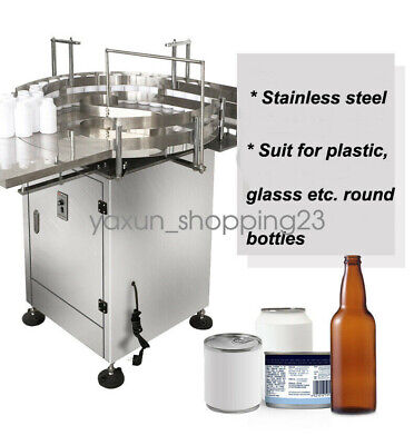 31 Round Accumulation Table Bottle Turn Rotary Table Automatic Packing Machine