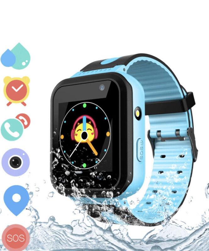 LDB+Kids+Smart+Watch+Phone%2C+LBS+Tracker+Waterproof+Smartwatch+Blue