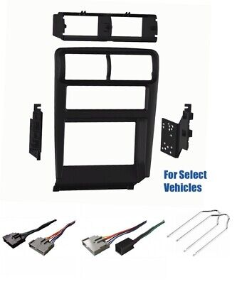 1996 1997 Car Radio Wiring (2 Din Car Stereo Dash Wire Trim Kit Combo for 1995 1996 1997 1998 Ford Mustang )