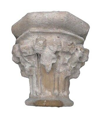 Reclaimed Stone Capitals from Addison Mizner's La Ronda