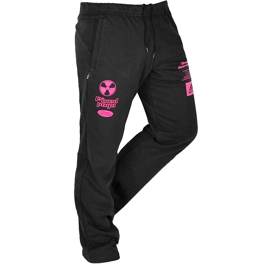 c009619c217bb5 Adidas US2 Event Sweat Pant Herren Jogginghose Trainingshose Hose schwarz  pink