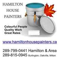 HAMILTON HOUSE PAINTERS - the original! - high-quality painting