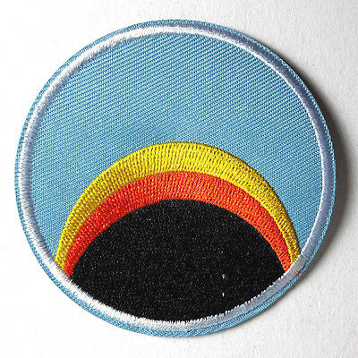 "Space:1999  Blue Sunrise/Rainbow Logo  3"" Uniform Patch-USA Mailed(SPPA-1904)"