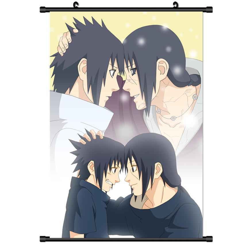 Itachi and Sasuke Uchiha Dictionary Art Print Poster Picture