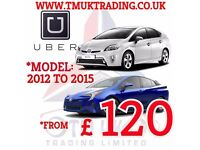 TOYOTA PRIUS HYBRID PCO CAR HIRE,UBER READY FOR RENT 7 SEATER ALSO HANDY