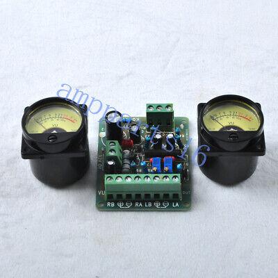Vu Driver Board With 2pcs Vu Meter Back Light For Audio Tube Amplifier Diy Parts