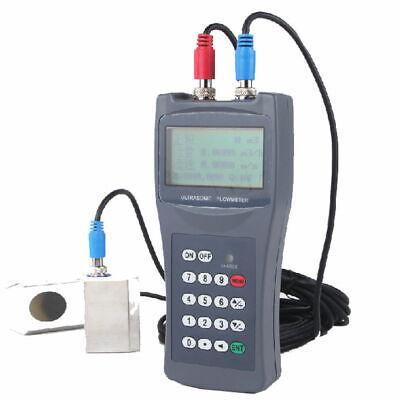 Tds-100h Handheld Digital Ultrasonic Flow Meter Flow Meter Clamp On Sensor