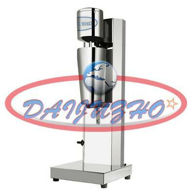 Stainless Steel Single Head Milk Shake Machine Electric Bubble Tea Mixer 220v