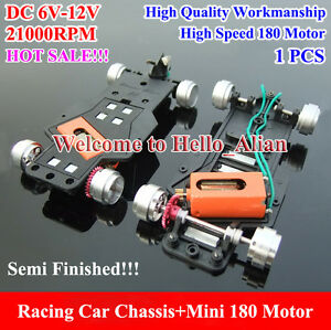 Mini-180-Motor-Car-Chassis-Racing-Car-DC-6V-12V-21000RPM-High-Speed-Large-Torque