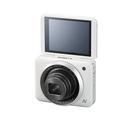Canon PowerShot N2 16.1MP WiFi Self Camera (White)