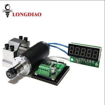 250w High Speed Brushless Motor Spindlemount Brackettachometer For Cnc Machine