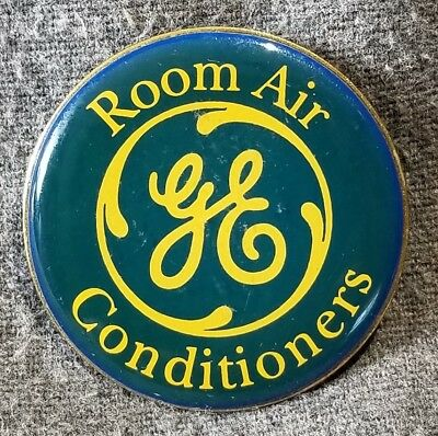 LMH PINBACK Pin GE ROOM AIR CONDITIONERS Conditioner HOME DEPOT Employee HVAC
