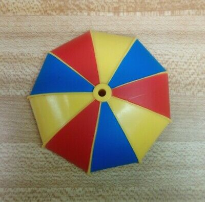 VINTAGE 1984 KENNER DC SUPER POWERS UMBRELLA CANOPY ONLY NR PENGUIN