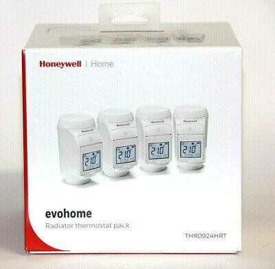 Honeywell Home Heizkörperthermostat-Set evohome THR0924HRT 4er Set