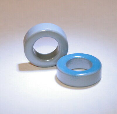 6 Pc Toroid Core Powdered Iron .94 24mm For Power Magnetics Inductorcoil