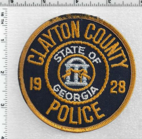 Clayton County Police (Georgia) 1st Issue Shoulder Patch