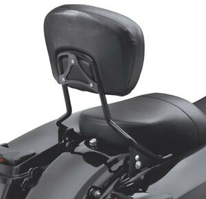 TALL-BLACK-HARLEY-Quick-Detach-Sissy-Bar-Backrest-ROAD-STREET-GLIDE-Sissybar-09