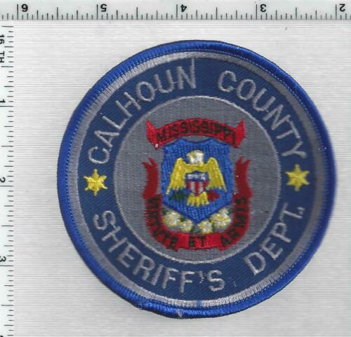 Calhoun County Sheriff (Mississippi) 2nd Issue Shoulder Patch