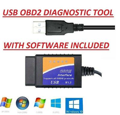 OBD2 USB Original Car Code Scanner DIAGNOSTIC TOOL Interface For HONDA ACURA