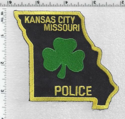 Kansas City Police (Missouri)  Shamrock Shoulder Patch