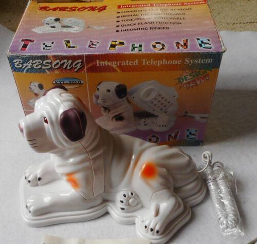 Vintage Novelty Dog Shaped Telephone