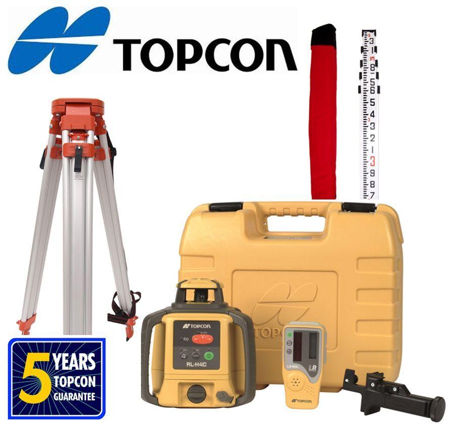 topcon rl h4c user manual