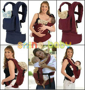 Adjustable-Infant-Baby-Carrier-Sling-Newborn-Kid-Wrap-Rider-Comfort-Backpack