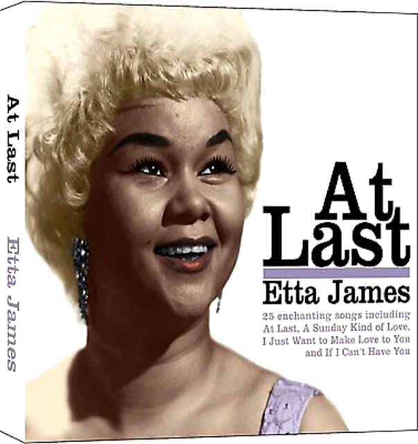 ETTA JAMES  ~ AT LAST/ SECOND TIME AROUND Brand New Sealed CD Hits / The Best Of