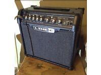 Line 6 Spider IV 15w guitar amplifier.